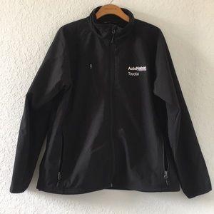 Men Toyota Auto Nation Car dealership Jacket Large